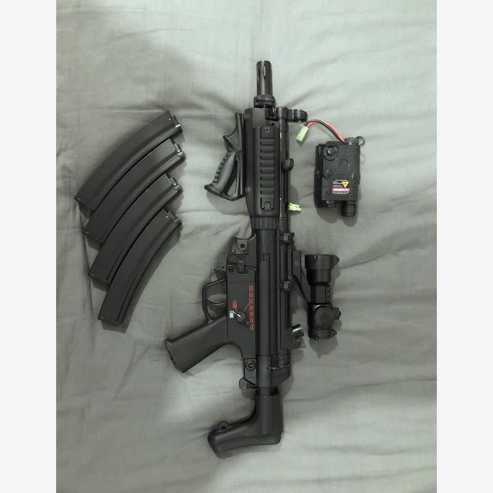 G&G full metal mp5